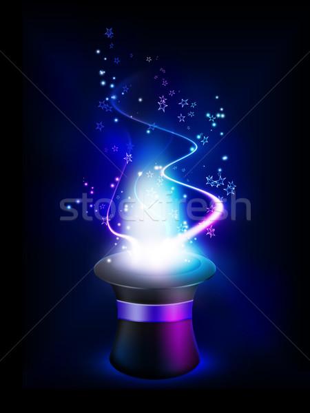 Photo stock: Chapeau · fantastique · résumé · design · magie · sombre