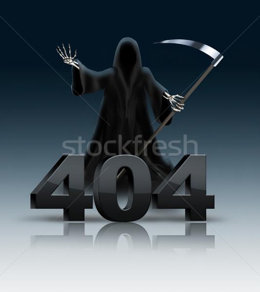 404 erro original projeto computador internet Foto stock © zven0