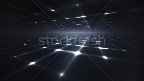 Karanlık soyut ufuk ışık dizayn arka plan Stok fotoğraf © zven0