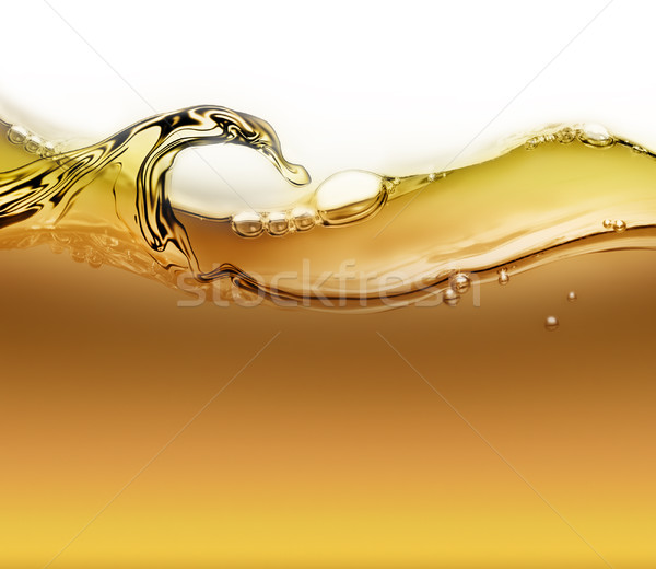 wave of oil with air bubbles  Stock photo © zven0