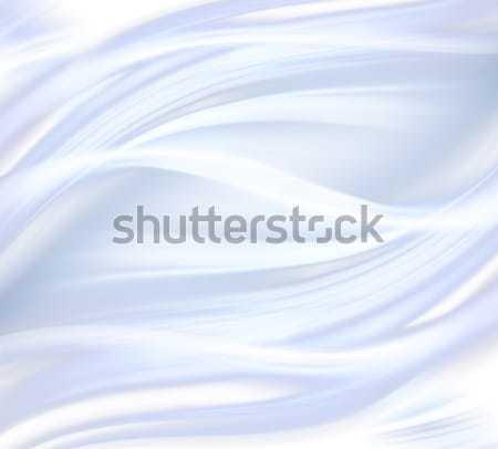 Witte satijn weefsel textuur ontwerp Stockfoto © zven0