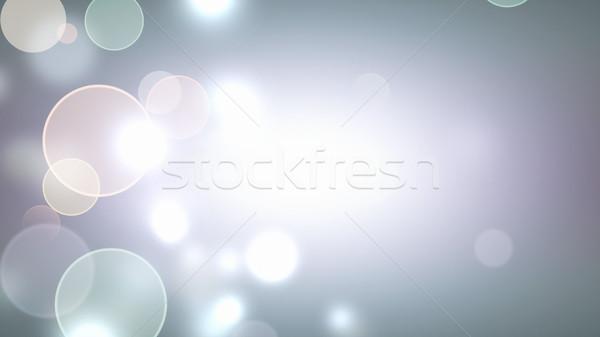 light bokeh background Stock photo © zven0
