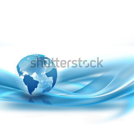 Business abstract wereld internet technologie aarde Stockfoto © zven0