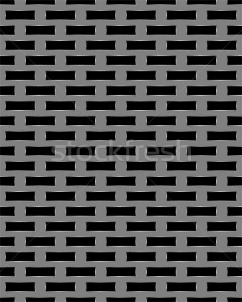 Metal grid seamless pattern Stock photo © zybr78
