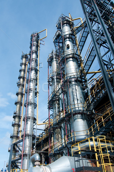 View gas processing factory Stock photo © zybr78