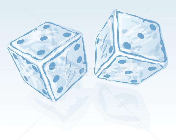 Two ice dices Stock photo © zybr78