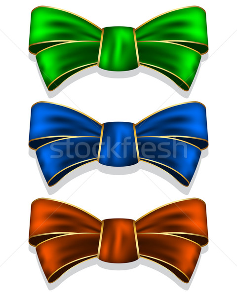 Collection bows Stock photo © zybr78