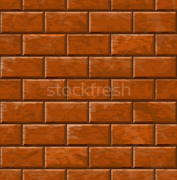 Background of brick wall texture Stock photo © zybr78