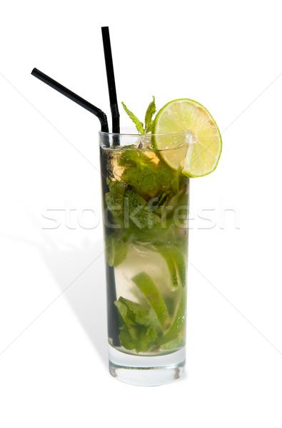 mojito in a glass Stock photo © zybr78