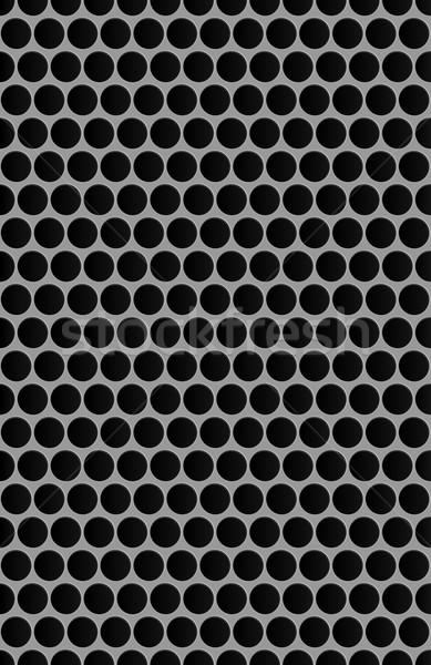 Metal grade abstrato arte preto Foto stock © zybr78