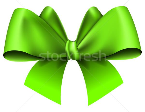 Grande verde arco branco abstrato arte Foto stock © zybr78