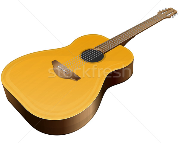 Classical guitar Stock photo © zybr78