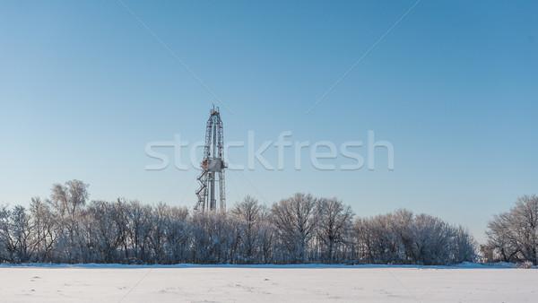 winter landscape Stock photo © zybr78