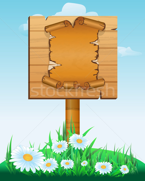 Cloud poster board