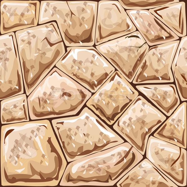 stone seamless pattern Stock photo © zybr78