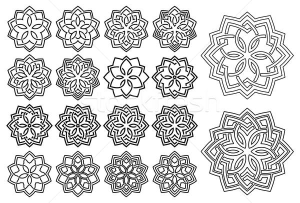 Pattern in arabesque style Stock photo © zybr78