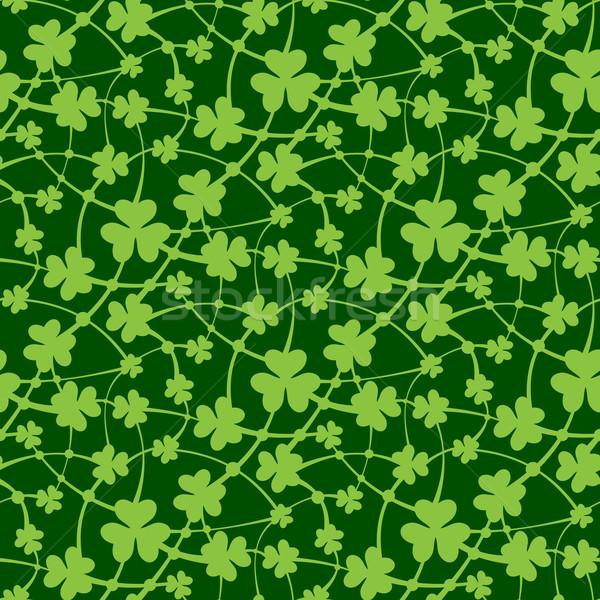 St. Patrick day seamless pattern Stock photo © zybr78