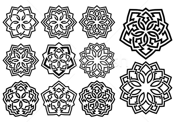 Ornamental pattern in arabesque style Stock photo © zybr78
