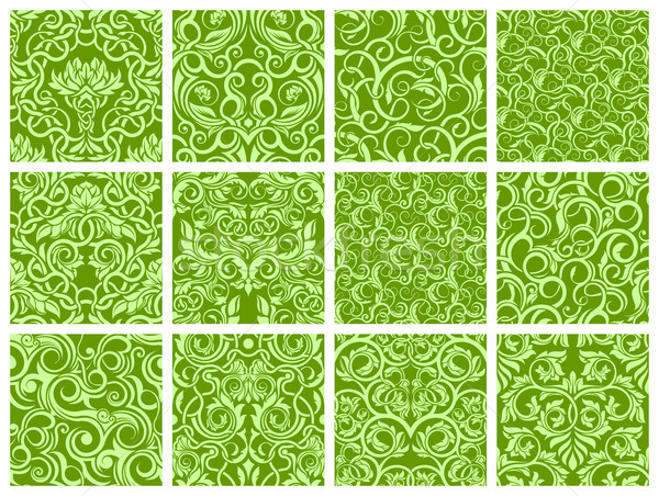Seamless pattern collection Stock photo © zybr78
