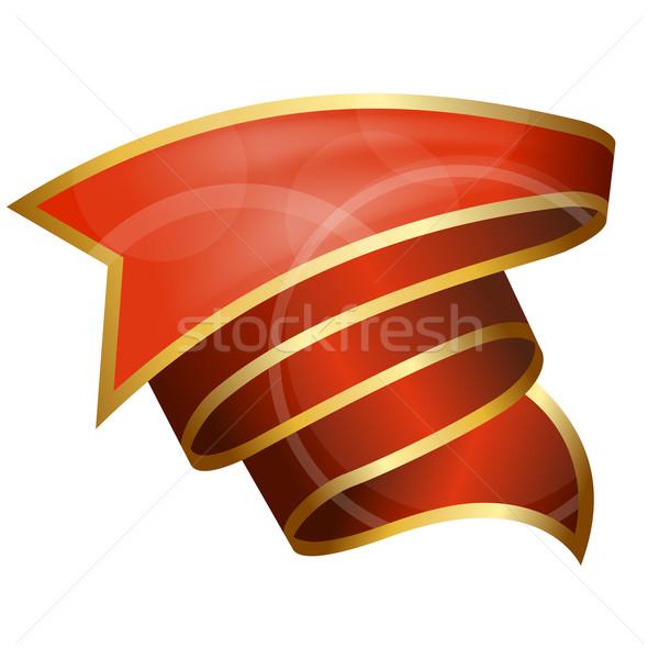 Big red ribbon  Stock photo © zybr78
