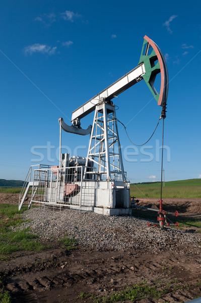 Oil pump  Stock photo © zybr78