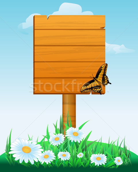 wooden sign boards Stock photo © zybr78