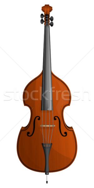 Klasszikus zene fa művészet koncert hang Stock fotó © zybr78