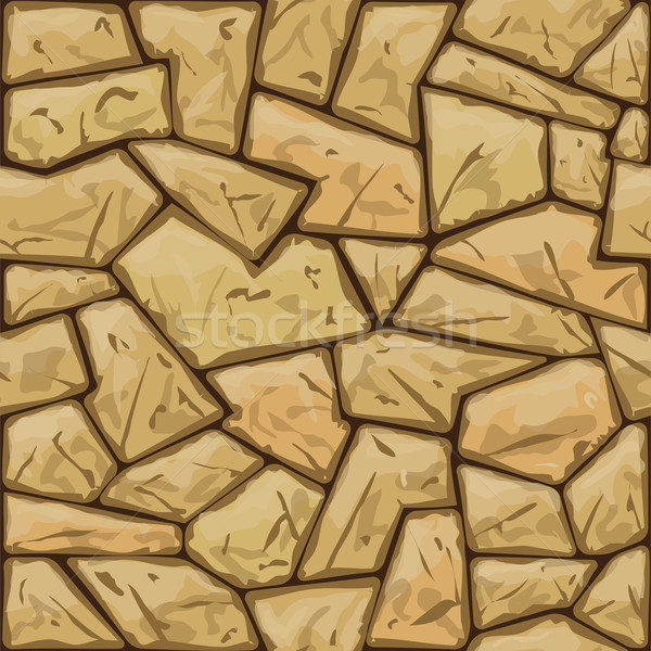 Kő végtelen minta egyszerű építkezés háttér kő Stock fotó © zybr78