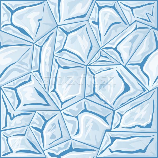 Gelo azul inverno pintura fundos Foto stock © zybr78