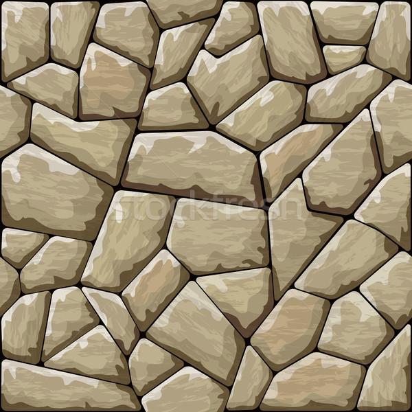 Pedra marrom rocha papel de parede fundos Foto stock © zybr78