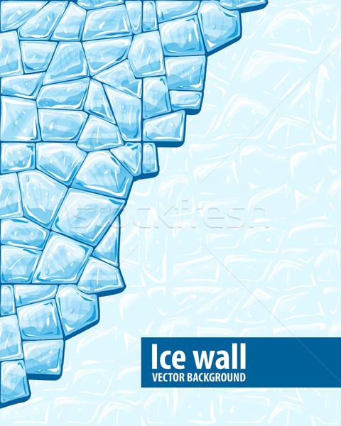 Ice wall Stock photo © zybr78