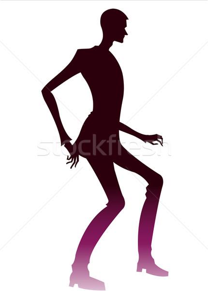человека искусства Живопись рисунок человека мужчины Сток-фото © zzve